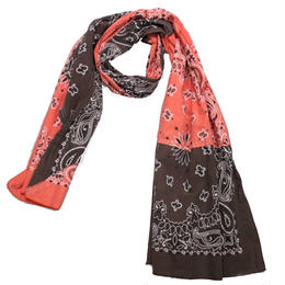 INFIELDER DESIGN      BANDANA STALL  BROWN×ORANGE