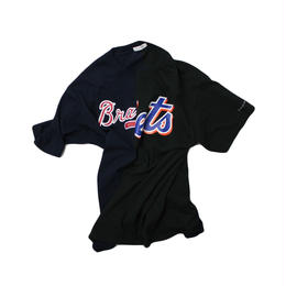 TAMANIWA  MLB REMAKE HALF TEE - NYM×ATL  ③