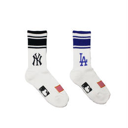 KIDS MLB × ROSTER SOX TEAMLOGO SOCKS