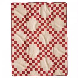 Patchwork Quilt Cover  Beige × RED (140 × 180)