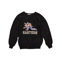 COPY CAT   -  OLD LONG SLEEVE SWAET EASTERNBLACK  - size ASORT