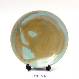 小皿 グリーン / 鴨下知美