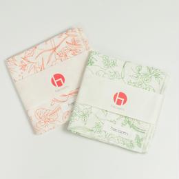 キッチンクロス  日本のハーブ柄 / hacozen