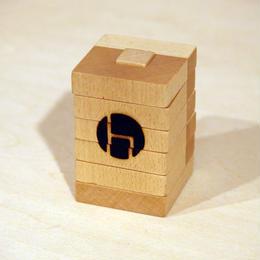 収納する箸置き / hacozen