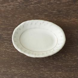 豆皿 楕円/河上奈未