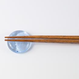 箸置き くぼみ 泡 / Rie Glass Garden