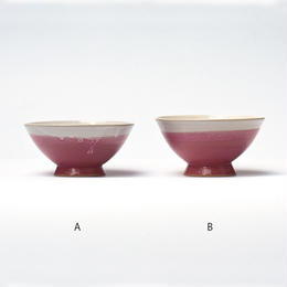 めし碗 ピンク / 鴨下知美