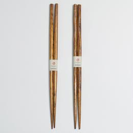箸 拭き漆 / hacozen × mokume