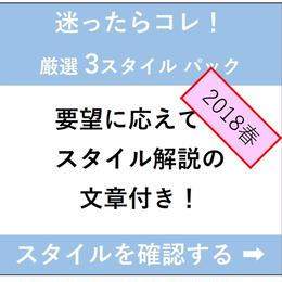2018春【3スタイル】迷ったらコレ!ポータルサイト楽々掲載セット