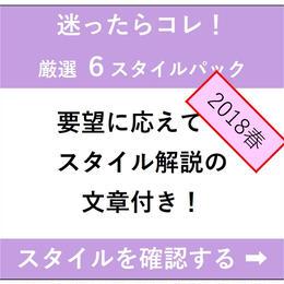 2018春【6スタイル】迷ったらコレ!ポータルサイト楽々掲載セット