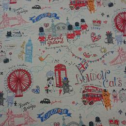 綿麻ネコ London 10㎝単位