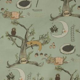 MODA   HUSHABYE HOLLOW   woodland scene/breeze 110㎝幅  10cm単位
