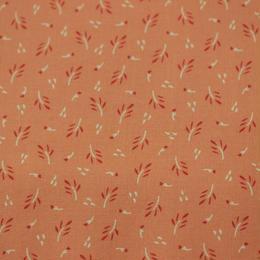 MODA   CREEKSIDE   bloom/coral 110㎝幅  10cm単位