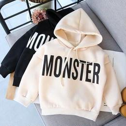 裏起毛Monster パーカー