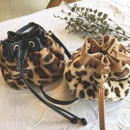 即納leopard2way shoulder bag