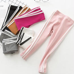 line leggings pants
