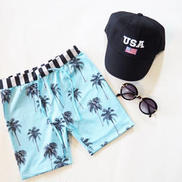 即納palm tree swim wear
