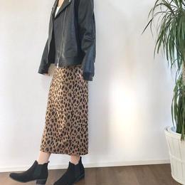 即納leopard skirt
