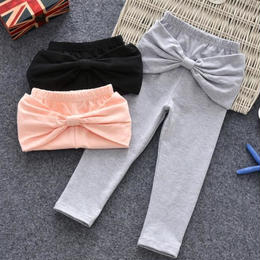 Back ribbon pants
