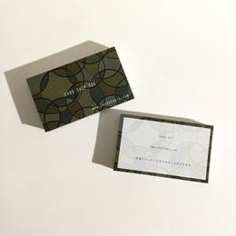 30d3_free 【カスタマイズ】オーダー名刺  ショップカード【100枚 】
