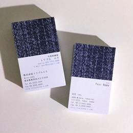 63d1_biz ビジネス名刺  英表記【100枚】