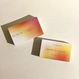 35d3_free 【カスタマイズ】オーダー名刺  ショップカード【100枚 】
