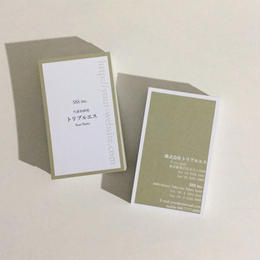 07d2_br  ビジネス名刺【100枚】【英表記】