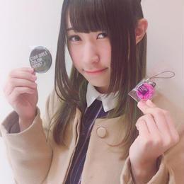 【黒瀬穂乃実サイン入り】メジャーデビュー記念缶バッチ&携帯ストラップ