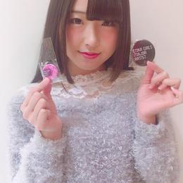 【結城栞里サイン入り】メジャーデビュー記念缶バッチ&携帯ストラップ