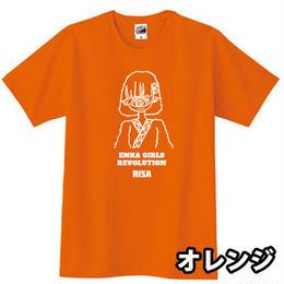【Risa】第二段 ENKA GIRLS REVOLUTION Tシャツ ~グランプリデザイン かやや~