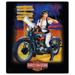 H-D® Crossroads Babe Embossed