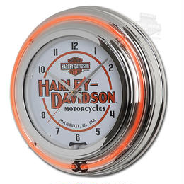 ハーレーダビッドソン  ダブルネオンクロック  HDL-16623