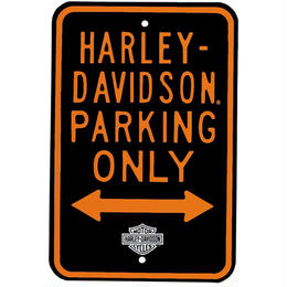 H-D® Parking Only Embossed