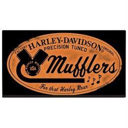 H-D® Mufflers Roar Embossed