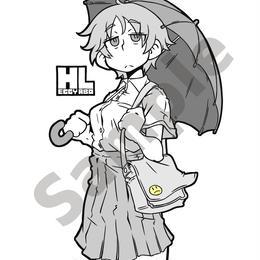 傘子ステッカー