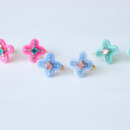 Exotic Cross Earring