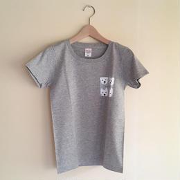 LadiesTシャツ   ウェスティポイント Gray