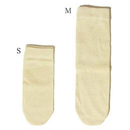 乳幼児〜子供用シルク先丸靴下S
