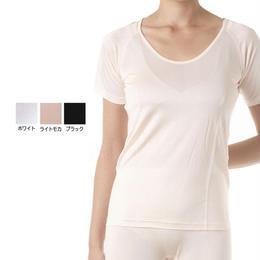 LC正絹シルク半袖スリーマー