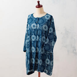 Indigo tunic:ladies (Dahlia)