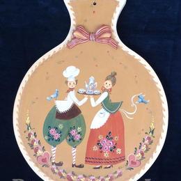 ピーターハンツのスタイルで描かれたボード