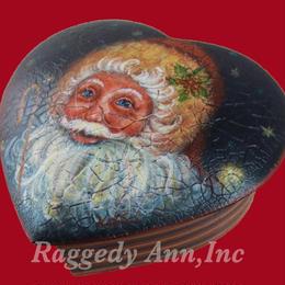 サンタクロースのキャンデーボックス