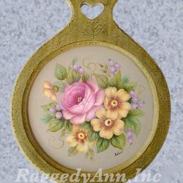 優しい花の額絵