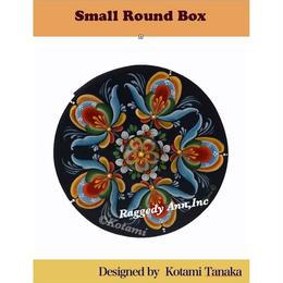 E-Packts ;Small Roun Box of Hallingdal style; by Kotami Tanaka