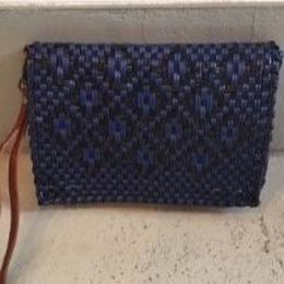 MINI CLUTCH BAG ミニ クラッチバッグ(レザーストラップ付)