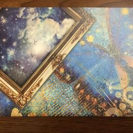星の舞オリジナルポストカード【Blue butterfly】5枚セット