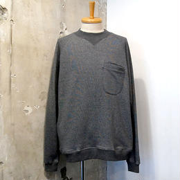 if you want ×OUTPUT  Mock Back Pocket Sweat