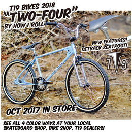 """T19 x HOW I ROLL TWO FOUR BMX 2018"""