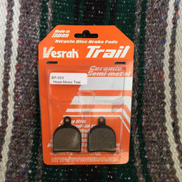Vesrah  Trail HOPE MONO TRIAL用 ディスクパット