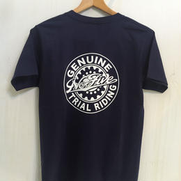 NO Five POCKET T-shirt /navy